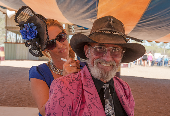 Eureka Creek Rodeo: ein Hauch von Ascot