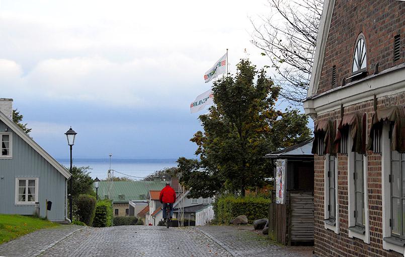Die Kirkgatan von Båstad