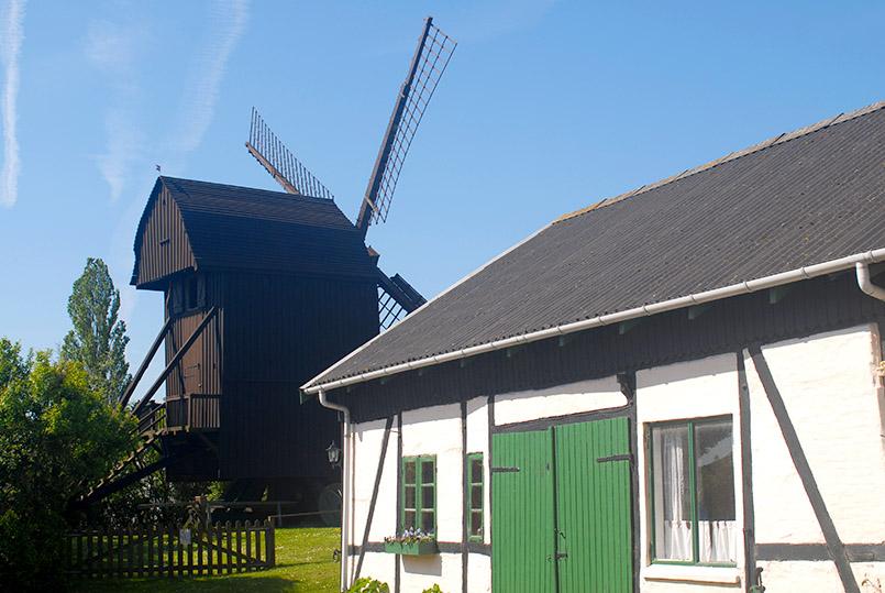 Die Mühle von Stovby auf Falster