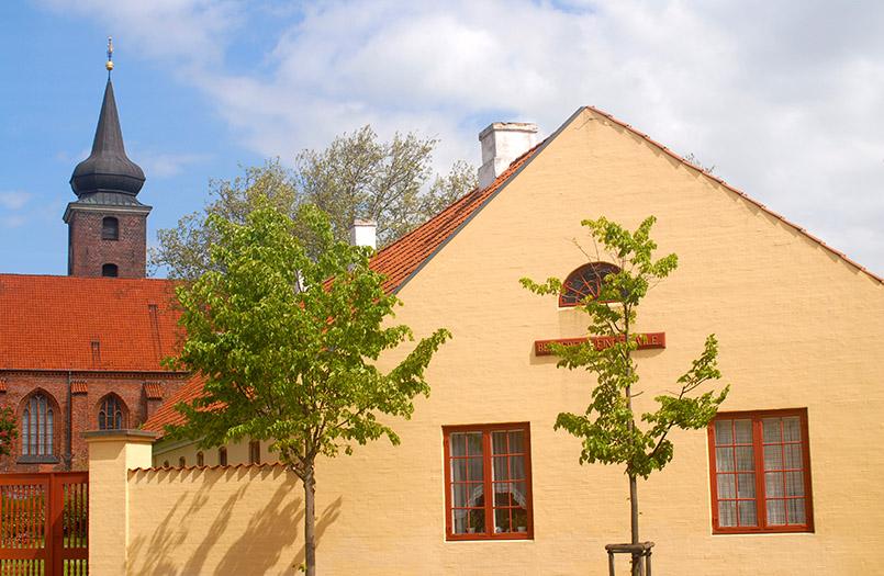 Die Klosterkirche von Nykøbing Falster