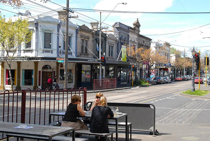 Gertrude Street in Melbourne ist eine beliebte Szene-Adresse