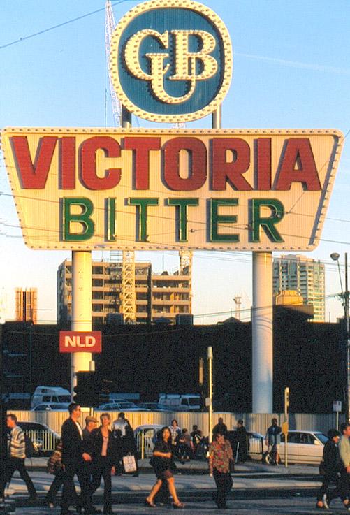 Victoria Bitte - ein Bierklassiker aus Melbourne, Victoria
