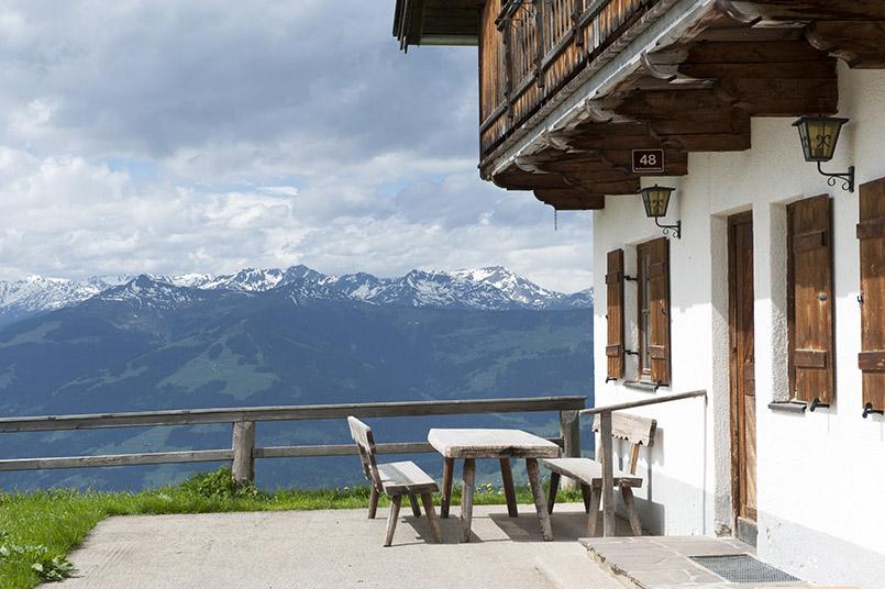 Berggasthof an der Hohen Salve bei Hopfgarten in Tirol