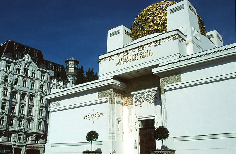 Das Secessionsgebäude in Wien