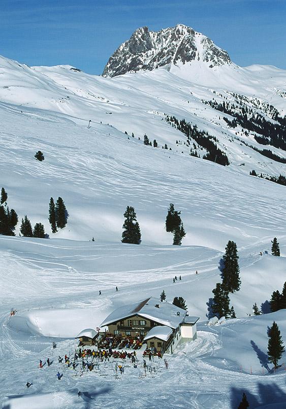 Skihütte am Großen Rettenstein