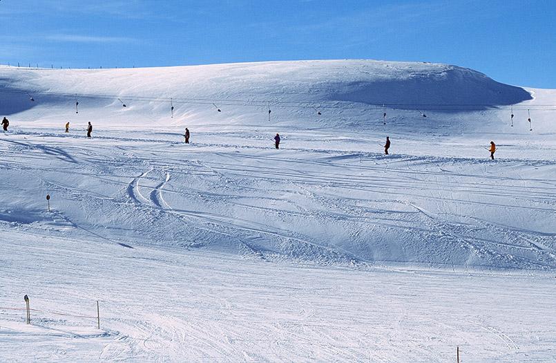 Skiarena Wildkogel: Tellerlift auf der Ganseralm