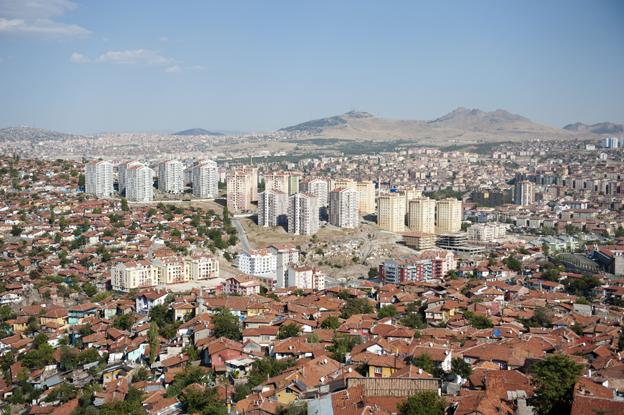 Ankara, die Hauptstadt der Türkei – so seht ihr sie von der Zitadelle