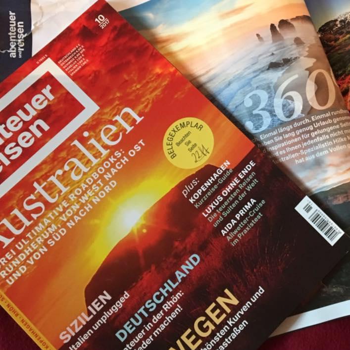 """Australien in """"abenteuer und reisen"""""""