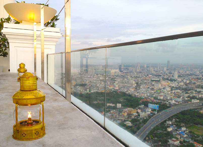 Rooftop Bar des Lebua State Towers