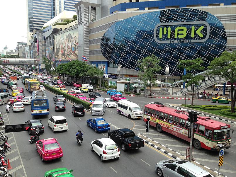 Die älteste Shoppingmall Bangkoks - MBK