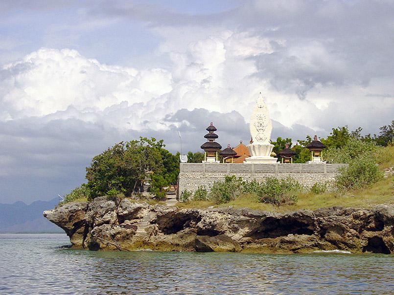 Der Tempel von Meningan Island