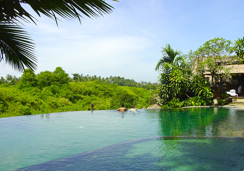 Ubud: der Quellwasserpool des Pita Maha Resort & Spa.