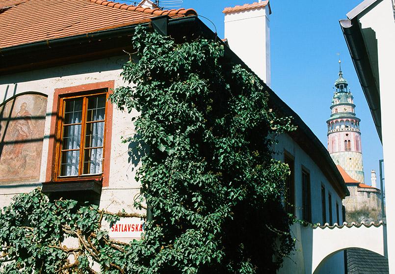Perle von Südböhmen: Český Krumlov (Krumau)
