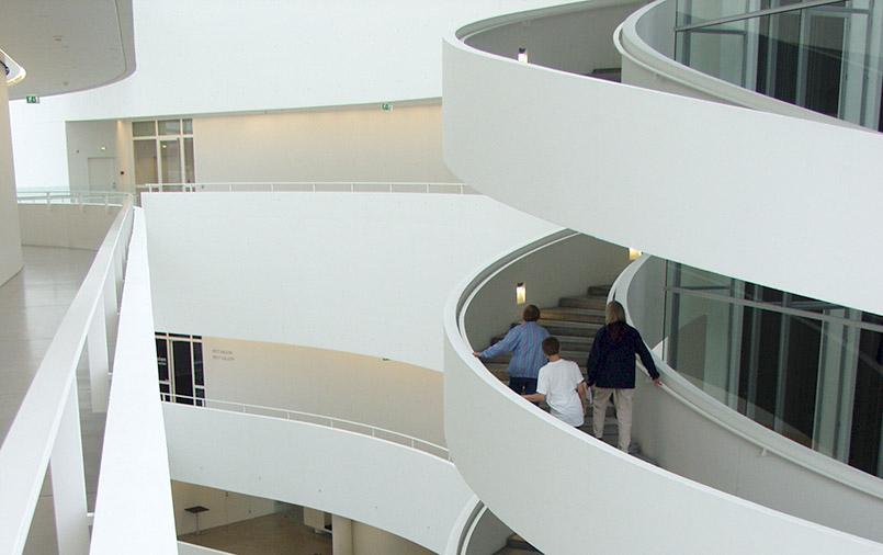 Das ARoS-Kunstmuseum von Aarhus