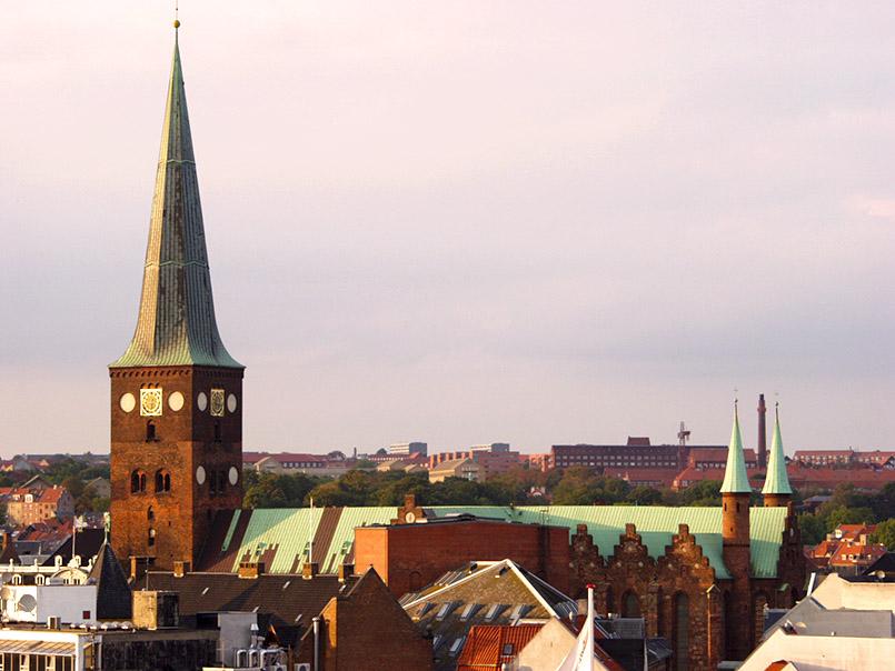 Die Domkirche von Aarhus