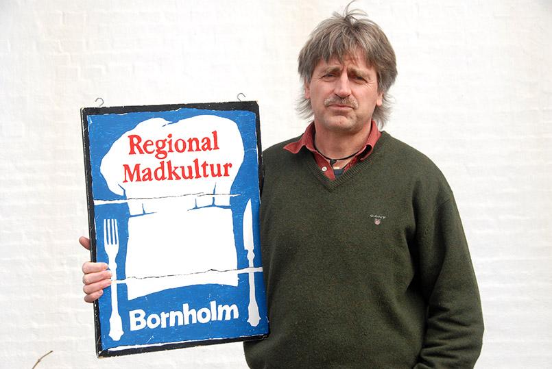 Gudjem Mølle: Hans Jørgen Jensen (53), Vorsitzender Foreningen Madkultur Bornholm