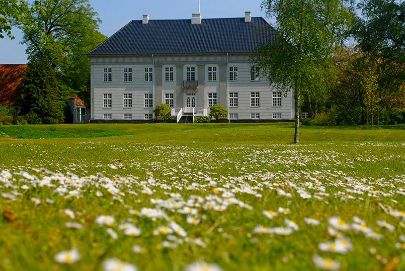 Das Herrenhaus von Gut Corselitze auf Falster