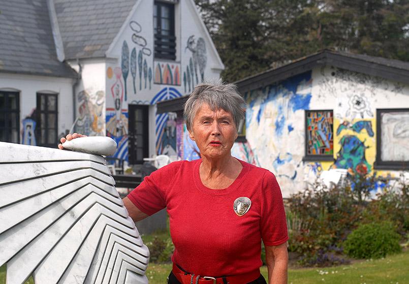 Hanne Heimhuder von der Galleri Syd auf Falster