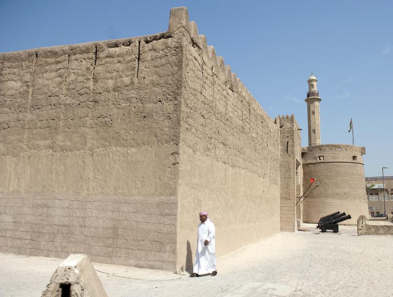 Al Bastakiya - die Altstadt von