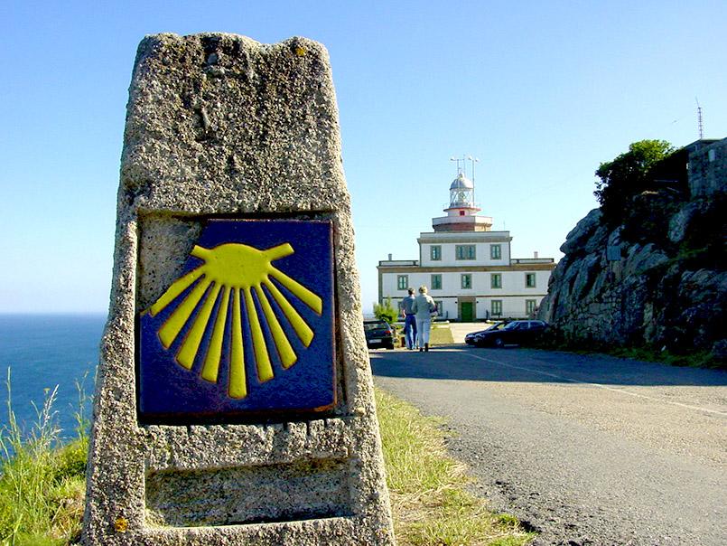"""Cabo Finisterra: """"Das Ende der Welt"""" - auch Endpunkt des Jakobsweges."""