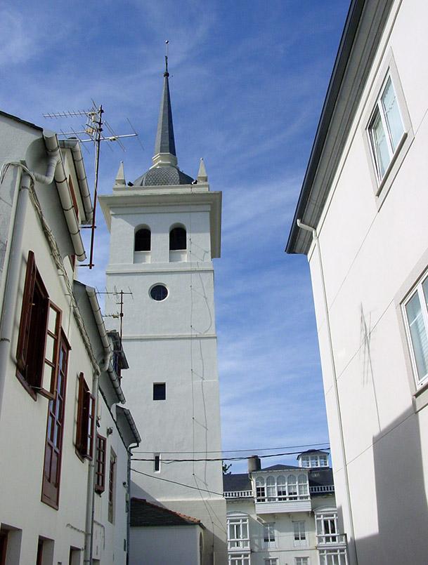 Jakobsweg/Asturien/Castropol: im alten Ortskern.