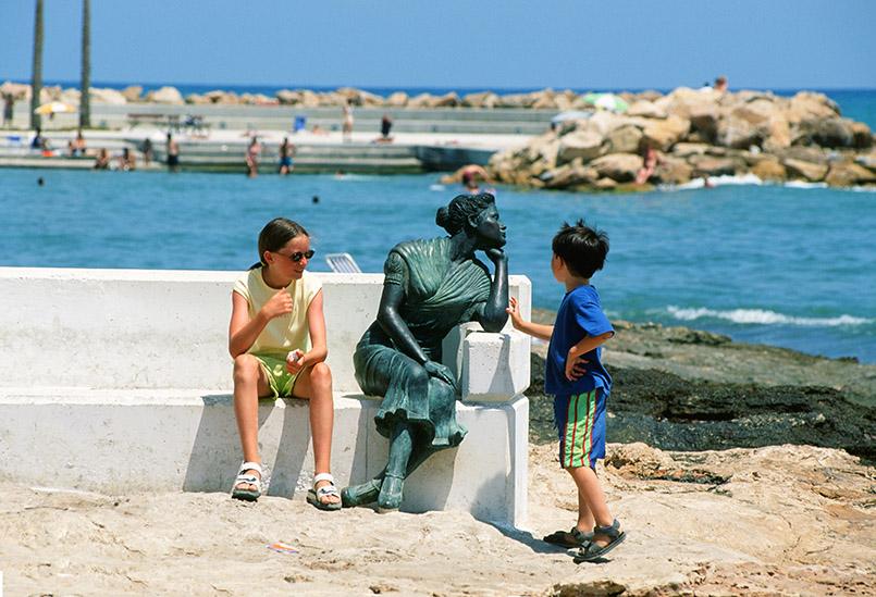 orrevieja: Promenade am Meer