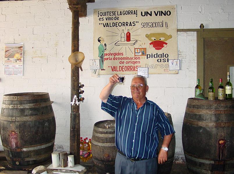 Eine Bodega im galicischen Ribadeo