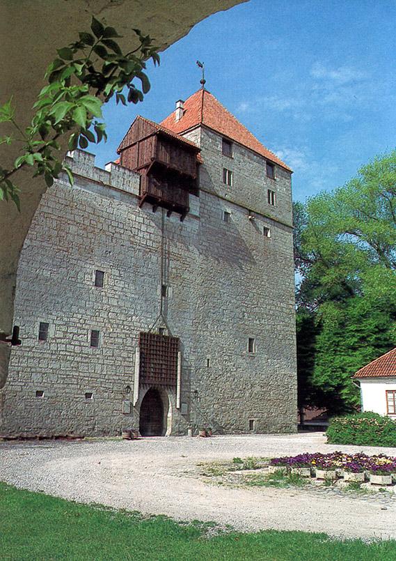 Die Burg von Kuressare auf Saaremaa