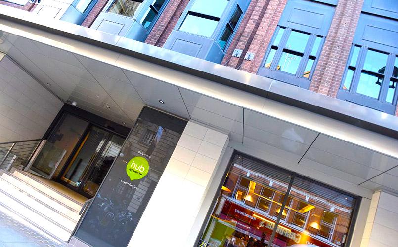 Das erste Hub-Hotel von London eröffnete am Covent Garden