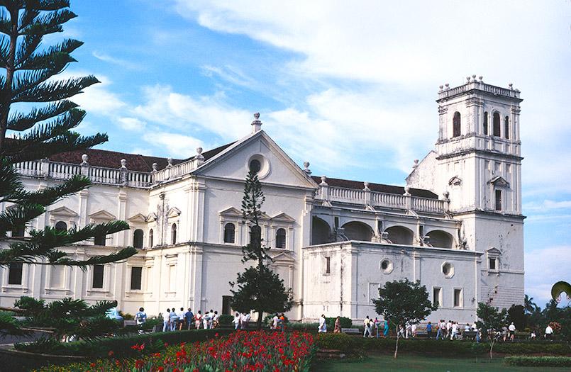 Alt-Goa: die Sé-Kathedrale