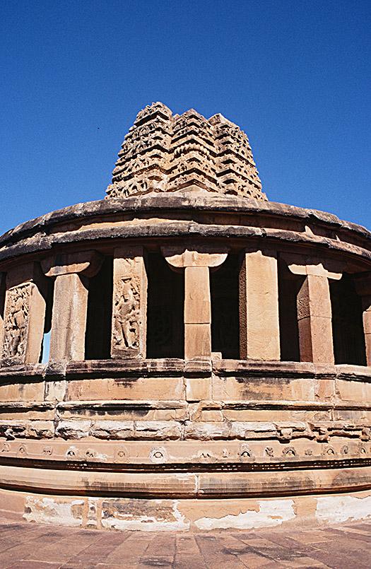 Der Durga-Tempel von Aihole