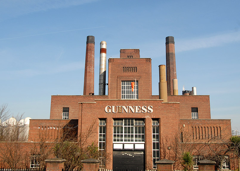 Dublin/Guinness: St. James's Gate, Brauereigelände seit 1759