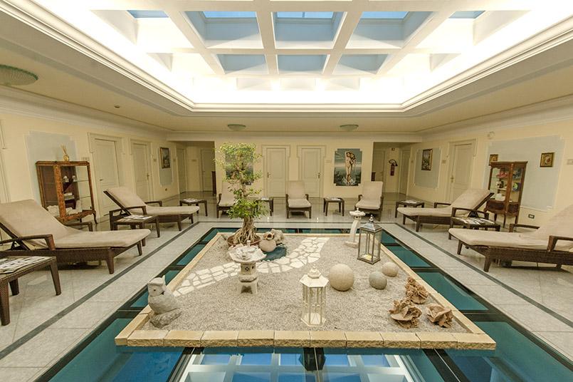 Das Spa des Abano Grand Hotels