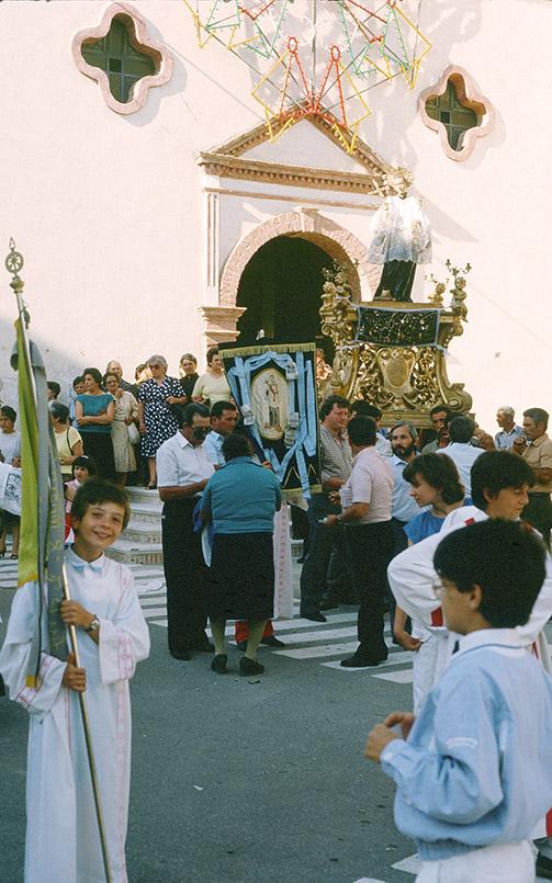 Fest zu Ehren von San Antonio in Aliano in der Basilikata