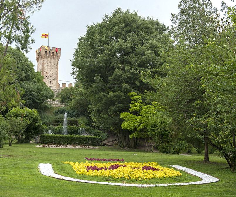 Die Burg von Este