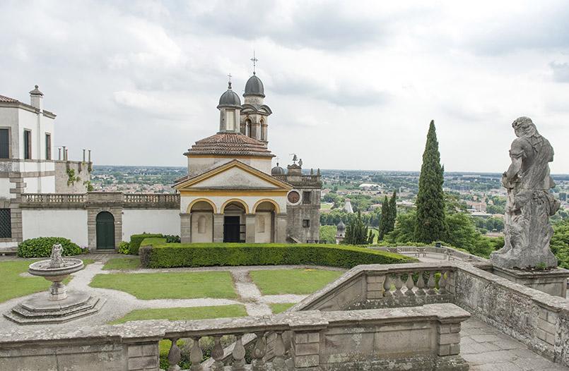 Villa Duodo oberhalb von Monselice
