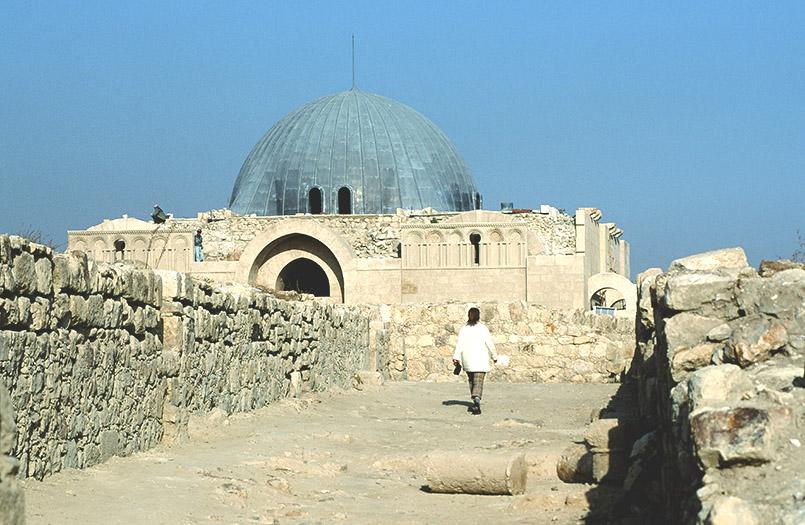 Die byzantinische Kirche auf dem Zitadellenhügel von Amman