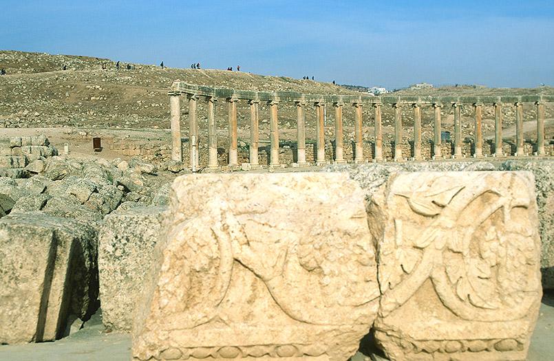 Das antike Jerash im Norden Jordaniens genießt den Ruf als besterhaltene römische Stadt der Welt.