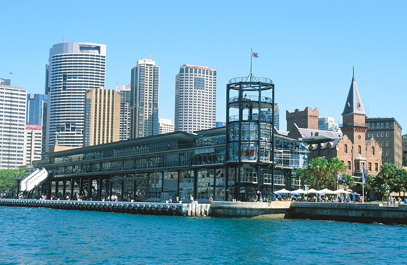 Sydney: The Rocks mit Overseas Passenger Terminal