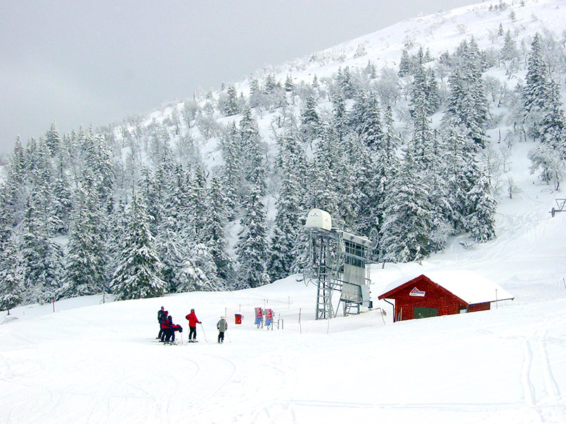 Trysil: im Skigebiet beim Toppen und Fjellroa-Lift.