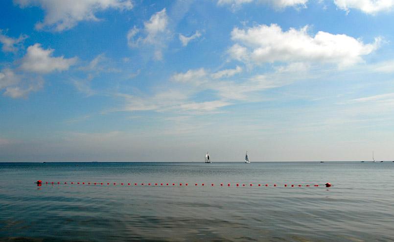 Die Ostsee bei Sopot