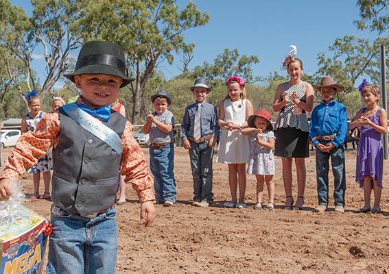 Eureka Creek Rodeo: Auszeichnung für das bestangezogene Kind