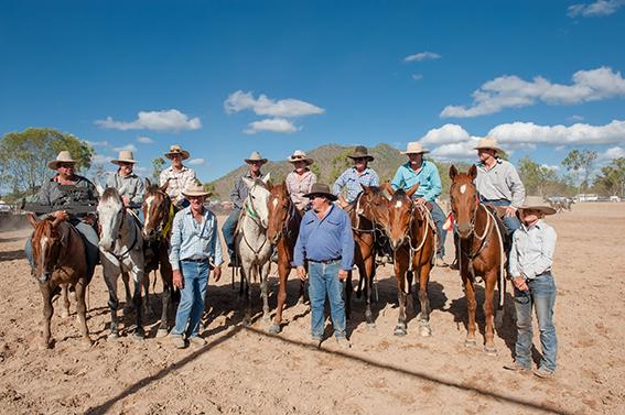 Eureka Creek Rodeo: Bereit zum Camp Draft