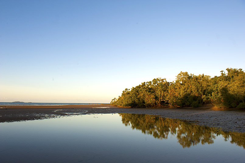 Garners Beach in Mission Beach, Queensland