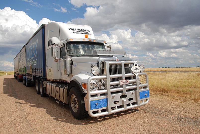 Roadtrains - Australiens Giganten der Staße