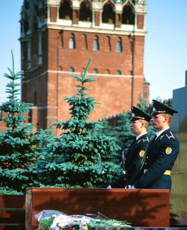 Moskau: Lenin-Mausoleum