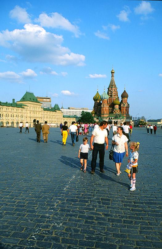 oskau: Roter Platz, Basilius-Kathedrale