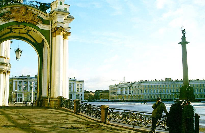 Die Eremitage von St.-Petersburg