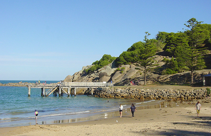 Fleurieu Peninsula/Port Eliot: Horseshoe Bay.