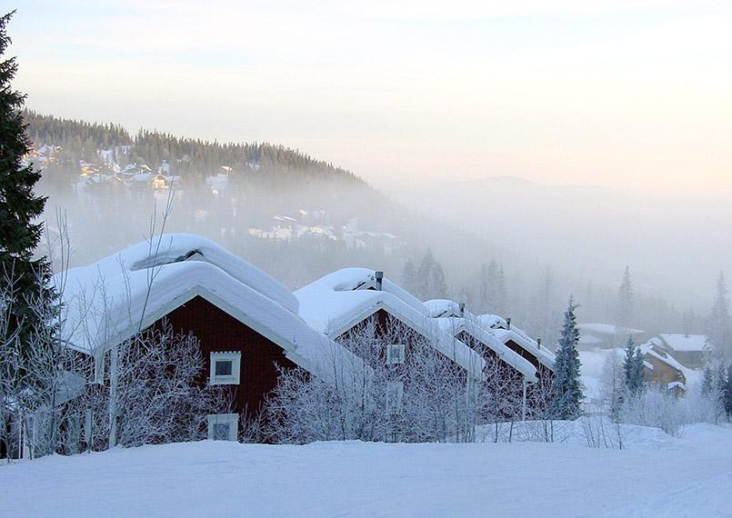 Ferienhäuser im Skigebiet Blörnen